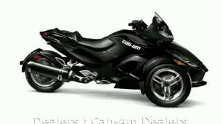 6. 2012 Can-Am Spyder Roadster RT Audio And Convenience  Info Specs Dealers Engine motorbike