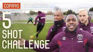 Video West Ham 5 Shot Challenge ft. Arnautovic, Lanzini, Antonio & Mario! MP3, 3GP, MP4, WEBM, AVI, FLV Desember 2018