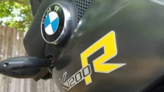 10. 2006 BMW K1200R Oil Change Pt 1/7