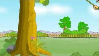 Swinging High - English Nursery Rhymes - English Cartoon Nursery Rhymes