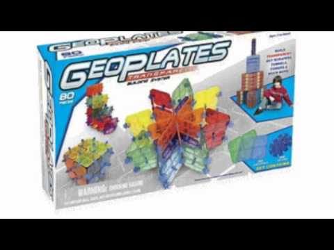 Video Geoplates Building System now on YouTube