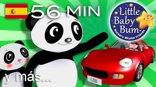 Descarga los vídeos de LBB http://www.littlebabybum.com/es/tienda/videosPeluches: http://littlebabybum.com/shop/plush-toys/© El Bebe Productions Limited00:04 Cruzar la carretera01:55 ¿Dónde estás? Canción del escondite03:43 Abre y cierra05:22 Dos pajaritos06:55 Osito, osito08:42 Cinco pajaritos10:44 Rig a jig jig12:22 La abuela Azucena13:56 Cinco monitos - Parte 115:51 Canta una canción de seis peniques17:23 La marinera fue al mar, mar, mar19:03 Da palmadas20:47 Ding dong bell22:24 ¡Pop! La comadreja24:05 Los números del 100 al 100025:56 Los colores y las acciones28:22 En la bahía30:05 Duérmete, niño32:04 En mi coche me voy - Parte 233:34 Humpty Dumpty - Parte 235:05 Oigo un trueno36:42 Mariquita, mariquita38:17 Lluvia, lluvia, vete ya40:17 El león y el unicornio41:57 El puente de Londres43:44 El número 145:16 El viejo rey Cole46:51 La canción del avión48:25 Estrella que brillas más50:21 La canción del tren51:53 Las ruedas del autobús - Parte 553:47 La canción del uno al diez - Parte 1