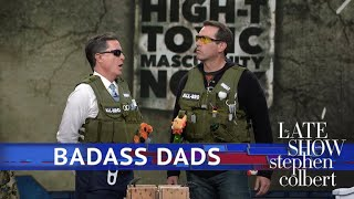 Video Stephen And Rob Riggle Are Tactical Dads MP3, 3GP, MP4, WEBM, AVI, FLV Juli 2018