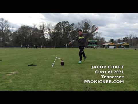 Jacob Craft, Prokicker.com Kicker, Class of 2021