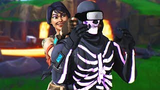 I played Fortnite while Blindfolded... (I can't see)