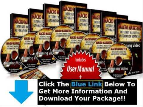 Get Push Button Marketer + Push Button Marketer Package