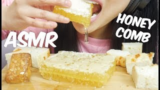 ASMR HONEYCOMB (Extremely STICKY Satisfying EATING SOUNDS) NO TALKING | SAS-ASMR *PART 2*