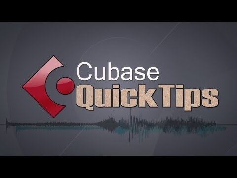 E01 – Soundcard Setup – Cubase Quick Tips
