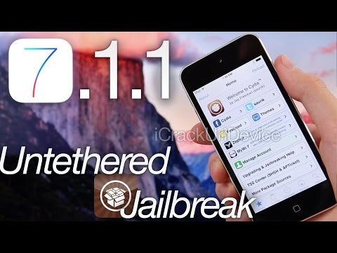 NEW Jailbreak 7.1.1 Untethered iOS 7.1 Pangu iPhone 5S,5C,4S,4,iPod Touch 5 & iPad Mini 2, Air,4,3