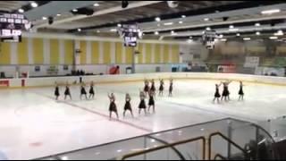 Flying Angels, Aosta 30/12/2014, 1a Gara Nazionale Senior, Free Skating