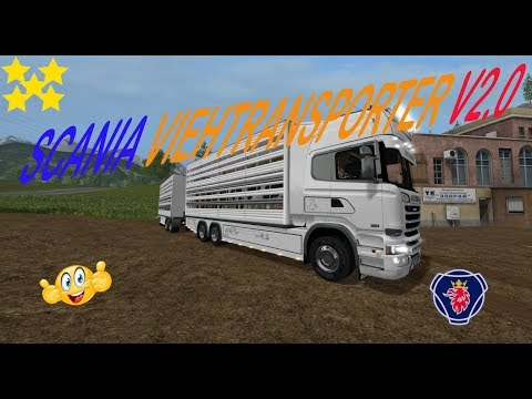 Scania Viehtransporter v2.0