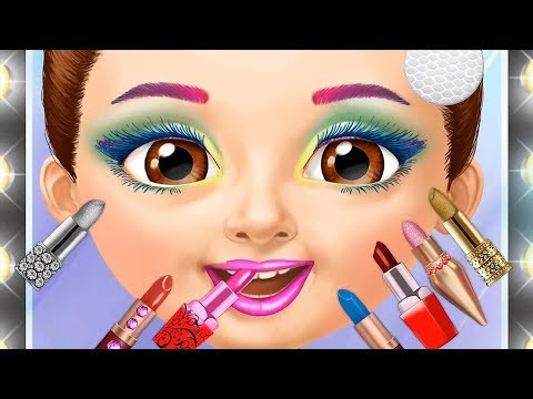 Sweet Baby Girls Emma Play Fun Makeover Games Hair Salon Dress Up, Makeup Nails Color Games For Kids