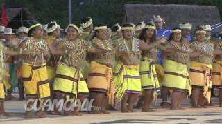 The FSM opening ceremonies performance for the Festival of Pacific Arts Guam 2016. The Federated States of Micronesia is a ...