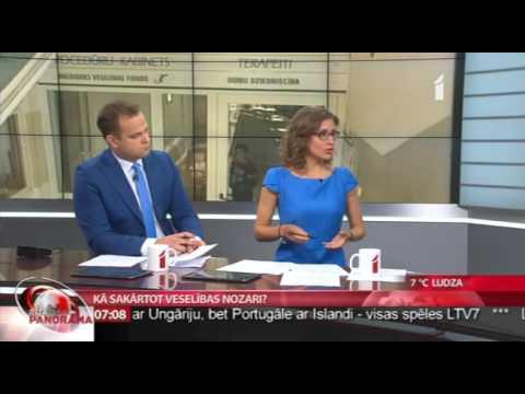 """Saruna ar veselības ministra amata kandidāti Andu Čakšu LTV1 """"Rīta Panorāma"""""""