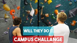 Magnus And Emil VS Campus Problem -Thors Fist Lock - The Classic Session by Eric Karlsson Bouldering