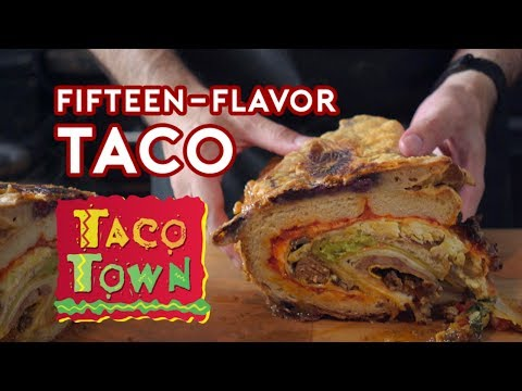 How to Make Taco Town s 15Flavor Taco Monstrosity From Saturday Night