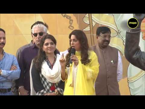 Juhi Chawla at a BJP event in Mumbai to support  CAA