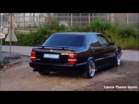 lancia thema 8.32 - l'unica vettura lancia con motore ferrari!