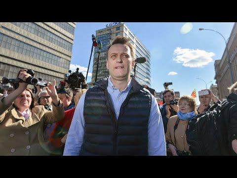 L'opposant russe Alexeï Navalny interpellé avant une manifestation contre la corruption