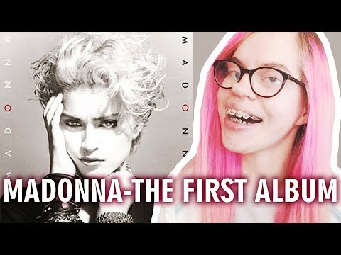 MADONNA - THE FIRST ALBUM (REACTION) | Sisley Reacts