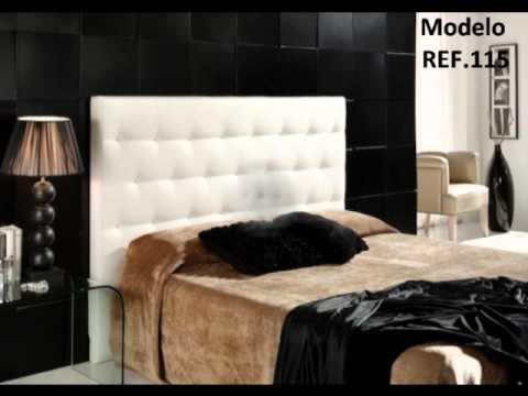 Cabeceras de cama videos videos relacionados con cabeceras de cama - Cabeceros modernos originales ...