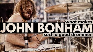Video What Makes John Bonham Such a Good Drummer? MP3, 3GP, MP4, WEBM, AVI, FLV September 2019