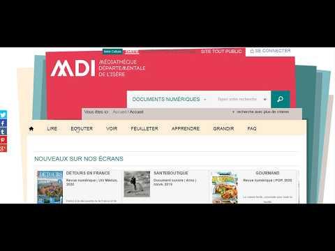 S'inscrire au portail de la MDI pour avoir accès aux ressources en ligne