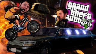 Join SkyVsGaming and friends for some hilarious GTA 5 PC Online funny moments in GTA 5 - WE SELL THE GOODS! DANGER INC.! (GTA 5 PC Online Funny Moments)Merch - http://www.teespring.com/stores/skyarmyFriends:Red - http://www.youtube.com/redvacktorPreston - http://www.twitter.com/prestondanger_Evan - http://www.twitter.com/alaskangelesHey ya'll! Welcome to WE SELL THE GOODS! DANGER INC. with SkyDoesMinecraft, ThatGuyBarney, PrestonDanger, AlaskAngeles, and RedVacktor. It's time to play some Grand Theft Auto Five! Today, we're going shopping! Then, we bribe cops and steal a limo. Next, Sky becomes a BMX pro and we become garbage men! Anyway, if ya'll enjoyed watching, slap that like button and subscribe for more hiliarous moments and comment down below your favorite moment from this GTA video! Thank you all for watching WE SELL THE GOODS! DANGER INC.! See you next time recruits!Follow me on these cool things!http://instagram.com/skydoesstuffhttps://twitter.com/#!/SkyDoesTweetinghttp://www.facebook.com/realskydoesminecraft