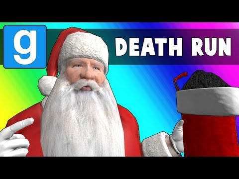 Gmod Deathrun Funny Moments - Santa's Workshop! (Garry's Mod) (видео)