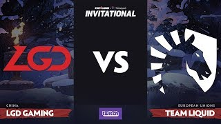 LGD Gaming против Team Liquid, Вторая карта, Group A, SL i-League Invitational S4