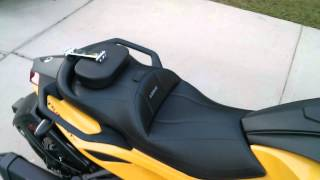 8. Can Am Spyder Sts Ultimate seat