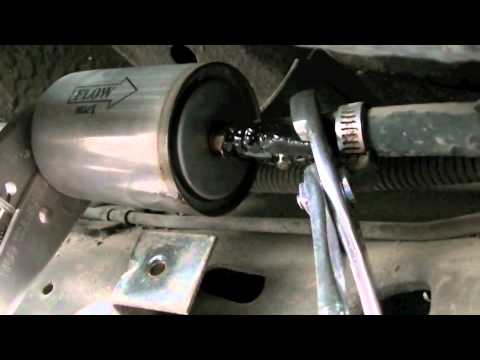 1984 Cadillac Coupe DeVille – Fuel Filter Replacement
