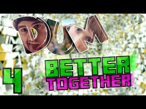 [DUM] Better Together #4 | RÄTSELRATEN | Minecraft Adventure Map [AnyArtLP | BTTV] Lets Play (видео)