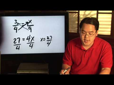 Cross Multiplication Video