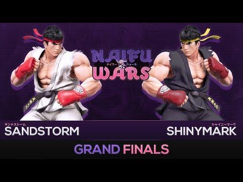 Naifu Wars #9 Grand Finals - Sandstorm (Ryu) vs ShinyMark (Ryu) - Smash Wii U
