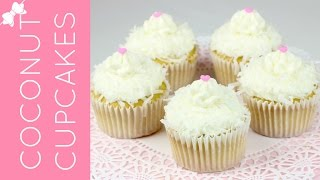 🎀RECIPE: http://www.lindsayannbakes.com/2017/04/video-coconut-cream-cupcakes.html🎀SUBSCRIBE FOR ALL-NEW VIDEOS: http://bit.ly/LindsayAnnBakesYouTube♡Ultra light, fluffy coconut cupcakes with a hint of sweet vanilla and loaded with coconut flavor. They are topped with a smooth coconut cream cheese frosting and all finished off with sweetened shredded coconut. These also make a perfect cupcake for Easter, too! Just top them with a little chocolate egg or jelly bean, for a fun and festive treat.♡Have a video request that you would like to see? Let me know! Connect with me @LindsayAnnBakes to say hi & tag YOUR creations with #LindsayAnnBakes 🎀 FACEBOOK - lets be friends!http://www.facebook.com/LindsayAnnBakes🎀 INSTAGRAM - more behind the scenes!http://instagram.com/LindsayAnnBakes🎀 TWITTER - come tweet with me!http://twitter.com/LindsayAnnBakes🎀 PINTEREST - sweet inspiration!http://pinterest.com/LindsayAnnBakes🎀 BLOG - check out more of my recipes!http://www.LindsayAnnBakes.com🎀 FOLLOW ALONG - subscribe to get recipes in your email!http://bit.ly/LindsayAnnBakesEmailRecipes🎀 EMAIL - drop me a line!LindsayAnn@LindsayAnnBakes.com
