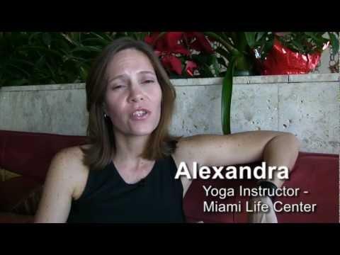 Ashtanga Yoga Miami Beach – Teacher Alexandra Santos at Miami Life Center video