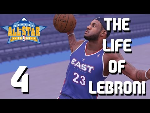The Life of LeBron James Ep.4 - First All-Star Game 2005 - NBA 2K16 MyTeam