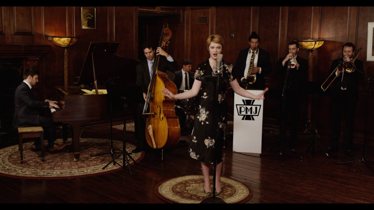 Somebody That I Used To Know – Vintage '40s Big Band Gotye Cover ft. Hannah Gill