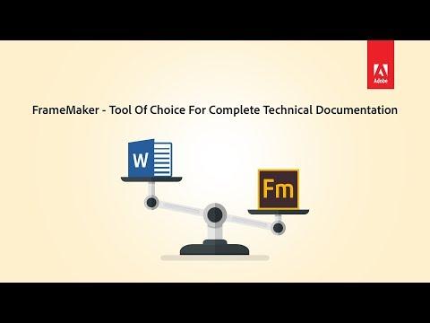 Advantages of Adobe FrameMaker over Word