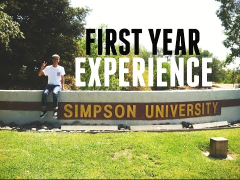 Andre's First Year Experience at Simpson