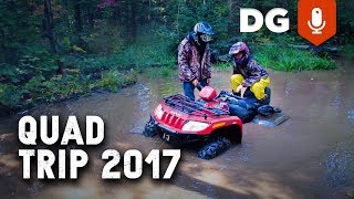 6. SUZUKI VINSON vs KINGQUAD: ATV & Fishing Trip 2017