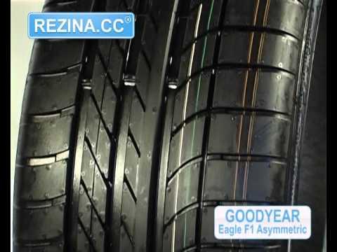 Zunanjost pnevmatike Goodyear Eagle F1 Asymmetric 2
