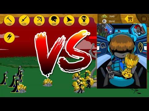 10 GOLDEN Speartons and 5 MERICS vs Cyrus | Insane MODE Tournament | Stick War Legacy
