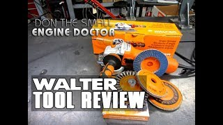 WALTER recently approached me to review their MINI PLUS angle grinder and their new line of FLEXSTEEL flap discs. Since I've been using their products for years I know they are good quality so I welcomed the opportunity!Make sure to check out their contest! http://bit.ly/2rS5OmbWalter is giving away a 2018 Mustang GT Fastback and 75 other weekly prizes. Inside every specially-marked 10-pack of Walter Surface Technologies Flexsteel,™ you'll find an entry code valid for 10 chances to win! The contest runs until November 15, 2017. FLEXSTEEL Flap discs;https://www.walter.com/en_CA/products/abrasives/blending/flexsteelENDURO-FLEX Flap Discs; https://www.walter.com/en_CA/products/abrasives/blending/enduro-flexZIPCUT Cutting Discshttps://www.walter.com/en_CA/products/abrasives/cutting/zipcutMINI-PLUS ANGLE GRINDERhttps://www.walter.com/en_CA/products/power-tools/grinding/mini-plus
