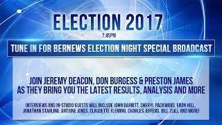 http://bernews.com  Bermuda  The 2017 General Election is taking place today [July 18], with people across the island casting...