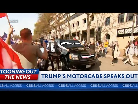 Trump's motorcade tells the truth about the coup