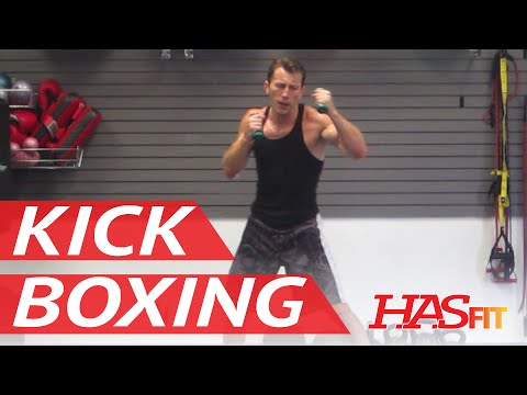 BEST 30 Minute Cardio Kickboxing Workout – Aerobic Cardiovascular Exercises – HASfit Cardio Training