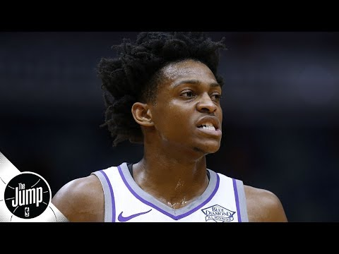Video: Can the Kings avoid losing De'Aaron Fox to a bigger market? | The Jump