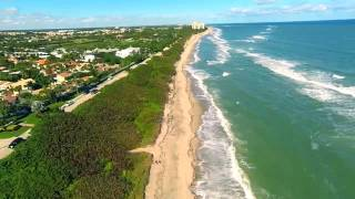 Jupiter (FL) United States  city pictures gallery : Jupiter FL Beaches, Lighthouse and Inlet Aerial Movie